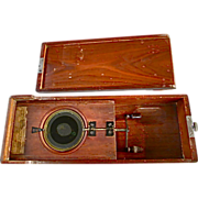 SOLD c.1800 Scientific Rotating Slides in Wooden Box