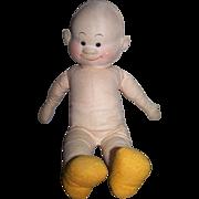 SOLD Georgene Averill Cloth Doll Sluggo 1940s