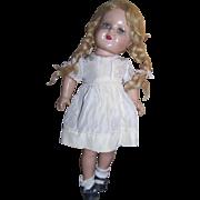 "SOLD Nancy Composition 17"" Doll Marked ""NANCY"""