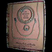 Boxed Vogue Ginny Jewelry Original Box