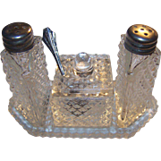 Miniature Condiment Set With Spoon 8 Pieces FREE USA Ship