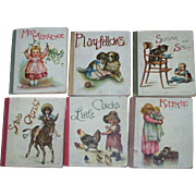 Our Little Folks' Library Ernest Nister Copyright 1904 Miniature Books