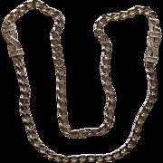 Boxed Christian Dior Rhinestone Chain Necklace