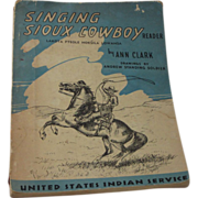 REDUCED United States Indian Service 1947 Sioux Reader RARE