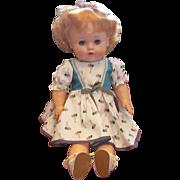 REDUCED Vintage Circa 1950's Doll All Original