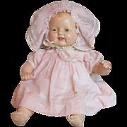 REDUCED Vintage E. I. Horsman Baby Dimples Composition Doll