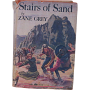 Vintage 1928 Zane Grey Book with Dust Jacket