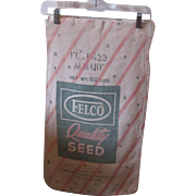 Vintage Advertising Seed Sack