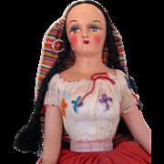 Vintage Italian Boudoir Doll