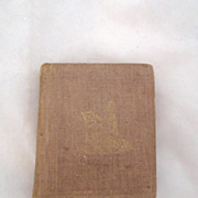 """REDUCED Antique Civil War Era Book """"Songs Divine and Moral """""""
