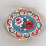 REDUCED Vintage Italian Micro Mosaic Pill Box