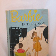 REDUCED Rare 1964 Barbie In Television Book