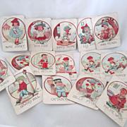 Vintage Cards Circa 1930's