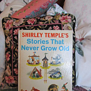 REDUCED Vintage Shirley Temple Book