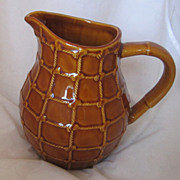 REDUCED Vintage Country French Pottery Pitcher