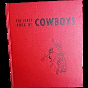 REDUCED Vintage 1950 Cowboy Book