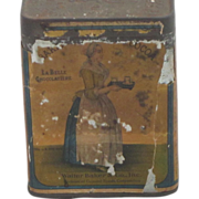 REDUCED Antique Cocoa Tin