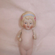 REDUCED Vintage Nippon Bisque Doll Adorable Circa 1920