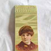 "REDUCED Antique  Advertisement Bookmark For ""Andes Stove And Ranges"""