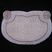 REDUCED Wonderful Vintage Heavily Beaded French  Evening Bag / Purse BEAUTIFUL!