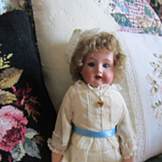 REDUCED Antique 16 Inch Armand Marseille Bisque Doll 370 5/0 German Made Sleep Eyes