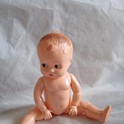 "Vintage ""Ideal""  8 1/2 Inch Google Eye Plastic Doll"