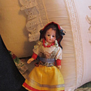 REDUCED Antique Ernst Heubach Doll All Original