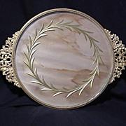 Dore' Brass Dresser Tray