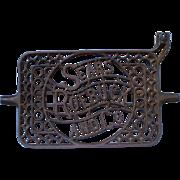 SALE Cast Iron Sears & Roebuck Sewing Machine Treadle Peddle-1900's
