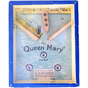 Queen Mary Ocean Liner 1930's Dexterity Puzzle Game