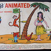 "Rube Goldberg ""Signal for Shipwrecked Sailors"" 1965 Model Kit"
