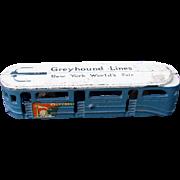 Arcade Toy Bus 1939 NY World's Fair Cast Iron Beautiful condition!