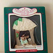 1987 Windows World Hallmark Aloha HAWAIIAN Ornament