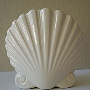 Lovely Ceramic Sea Shell Vase