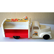 SALE 1940's Marx Pepsi Cola Toy Delivery Truck
