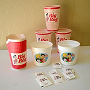 Lot of Licensed Big Boy Restaurant Items