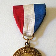 Medal For Swimming Relay Medley First Place 1970