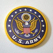 Vintage WWII U.S. ARMY Pocket Mirror