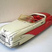 SALE HUGE Vintage 1950's  MARX Tin Car Sportster Convertible