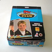 Box Unopened 1991 Topps Stadium Club Premium Hockey Cards