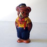 Vintage Key Wind Tin Lithograph Walking Bear J Chein Co.
