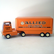 1950s TONKA Allied Moving Van Truck & Trailer