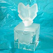Lovely Perfume Bottle Butterflies