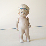 Too Cute Small Vintage Bisque Doll
