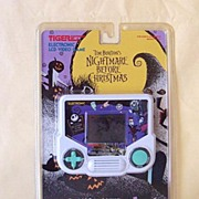 SALE Original 1993 Nightmare Before Christmas LCD Game MIP