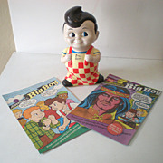 Big Boy Restaurant  Bank & 2 Comic Books