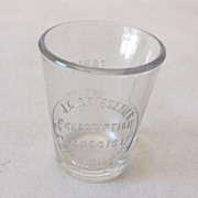 SALE Medicine Dosage Renovator Glass Pharmacy