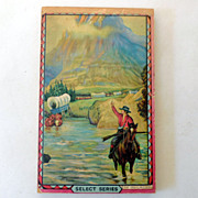 1940s School Tablet Western Cowboy Cover