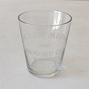 SALE Pre Prohibition Advertising Shot Glass Lima Ohio