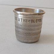 SALE Pre Prohibition Silver Plated Shot Glass England